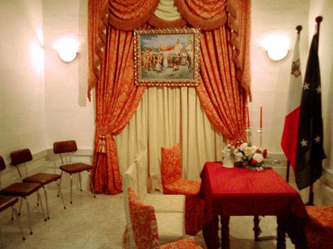 Marriage Registry Room Malta