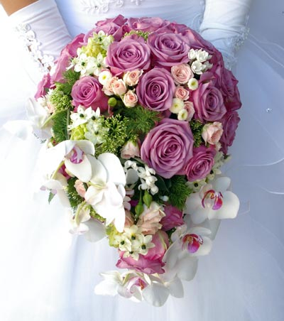 Wedding Flowers - Cascade