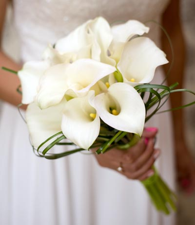 Wedding Flowers - Hand Tied