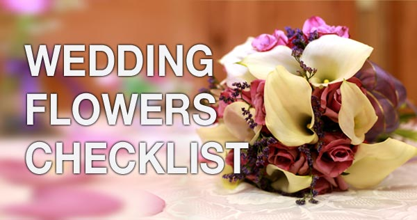 wedding flowers checklist theweddingsite com malta