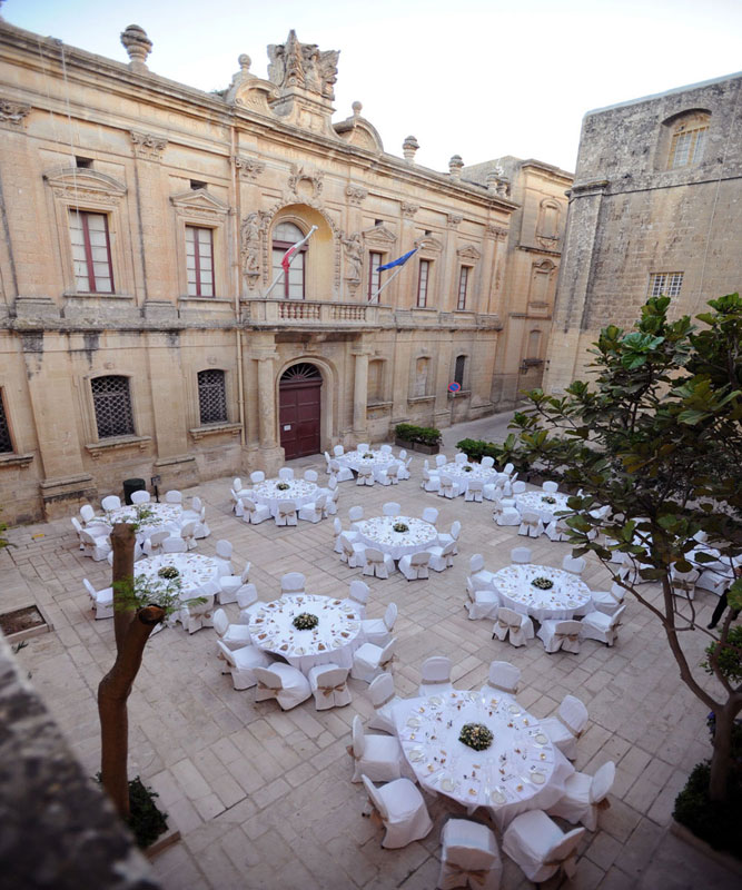Unique Wedding Venues Malta: The Xara Palace Relais And Chateaux, The