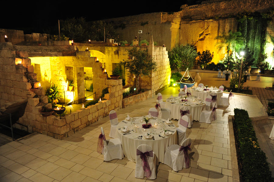 Waterfall Garden The Limestone Heritage Wedding Venue